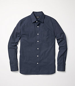 Grant Plus Print Point Collar Shirt