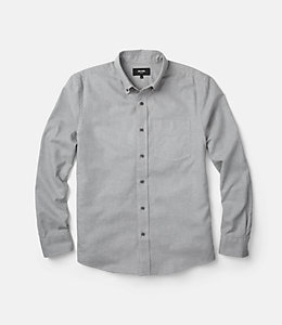 Palmer Grey Heather Houndstooth Shirt