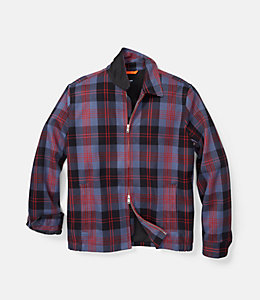 Plaid Zip Supply Jacket