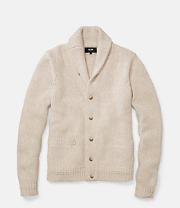 Chunky Shawl Collar Cardigan