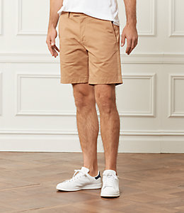 Racing Stripe Twill Short