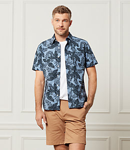 Clift Short Sleeve Tropics Point Collar