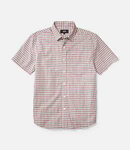 Clift Short Sleeve Check Point Collar