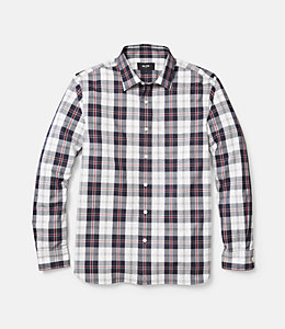 Grant Cunningham Tartan Point Collar Shirt