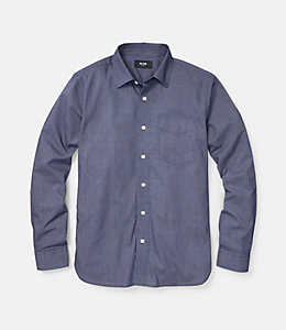 Grant Micro Dobby Check Point Collar Shirt
