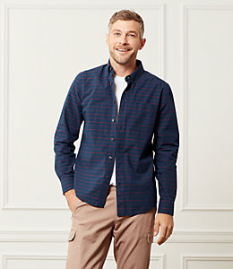 Palmer Horizontal Variated Stripe One Pocket Shirt