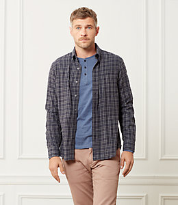 Sheppard Trapunto Flannel Check Shirt