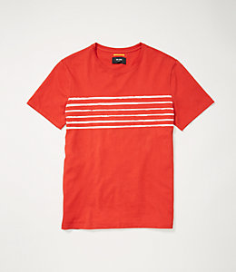 Stripe Printed Tee