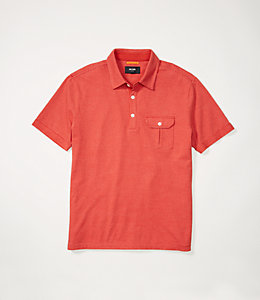 Striped Safari Polo