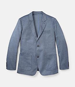 Textured Cotton Sport Coat