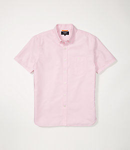 Short Sleeve Slim Fit Oxford