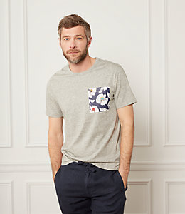 Poppy Floral Pocket T-Shirt