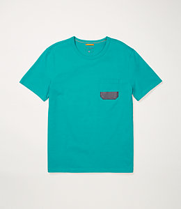 Dipped Pocket Tee