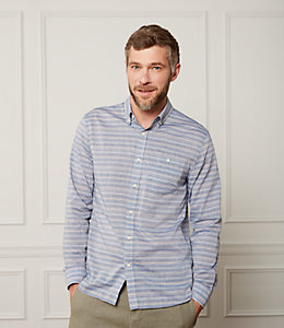 Cotton Linen Multi Striped  Shirt