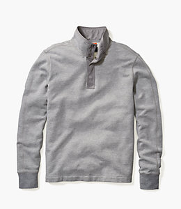 Half Button Sweatshirt