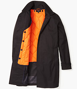 Water Resistant Cotton Trench