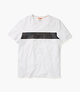 Dipped Camo Stripe T-Shirt