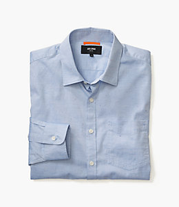 Blue Flecked Oxford Shirt