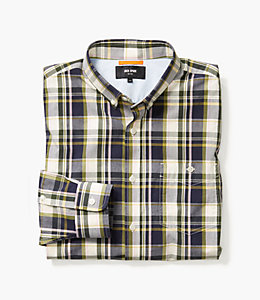 Preppy Plaid Button Down Shirt