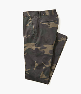 Camo Print Slim Fit Chino