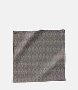 Margo Petitti Diamond Tile Pocket Square
