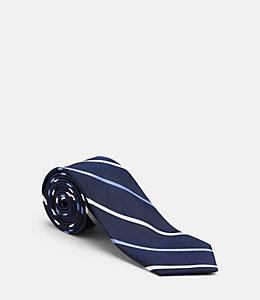 Tri Color Stripe Tie