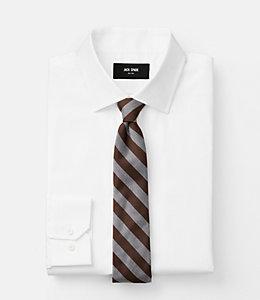 Wide Twill Stripe Tie