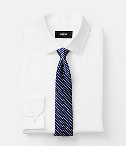 Thin Stripe Satin Tie