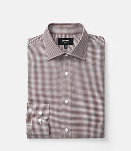 Thompson Gingham Dress Shirt
