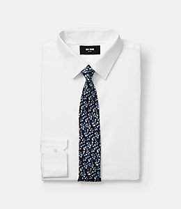Paris Rose Print Tie