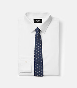 Polka Dot Double Face Printed Tie