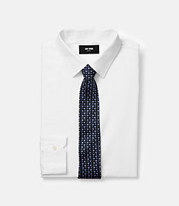 Sloshing Martini Print Tie