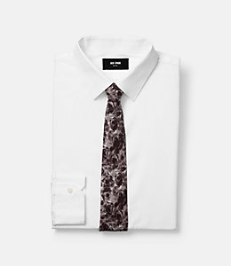 Windy Rose Print Tie