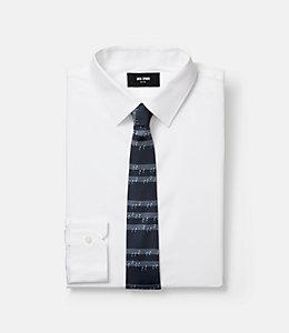 Blue Note Print Tie