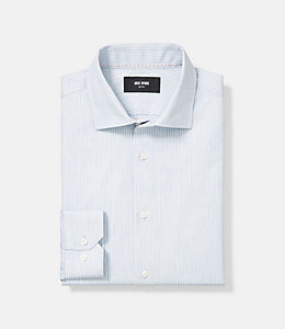 Thompson Melange Stripe Dress Shirt