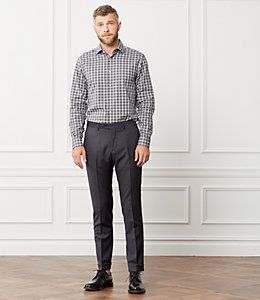 Thompson Herringbone Explosion Dress Shirt