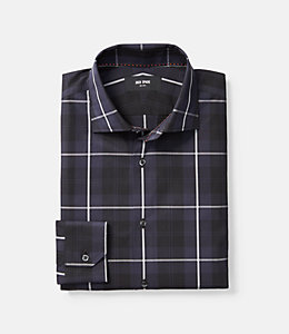 Thompson Classic Fit Cunningham Tartan Dress Shirt