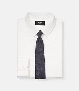 Flecked Glen Plaid Tie