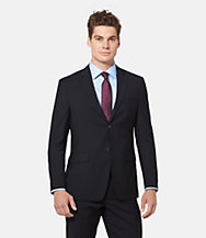 Warren Fit Wool Worsted Pinstripe Suit