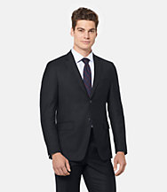 Warren Fit Wool Micro-striped Suit