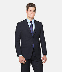 Warren Fit Wool Glen Plaid Suit