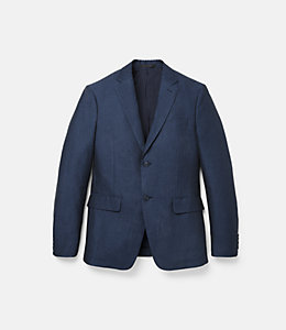 Warren Fit Cotton Linen Herringbone Sport Coat