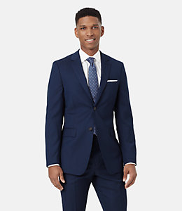 Warren Fit Micro striped Suit