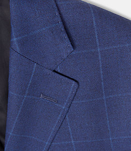 Warren Fit Cobalt Windowpane Sport Coat