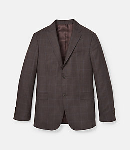 Warren Fit Windowpane Jaspe Sport Coat