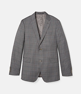 Warren Fit Textured Windowpane Sport Coat