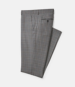 Warren Fit Textured Windowpane Trouser