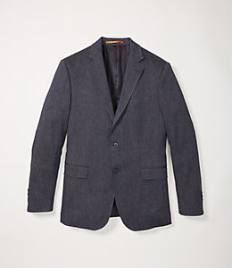 Slub Herringbone Sport Coat