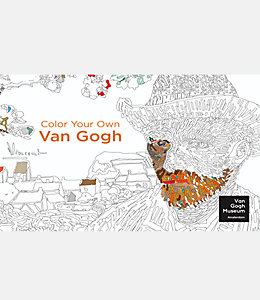 Color Your Own Van Gogh Adult Coloring Book