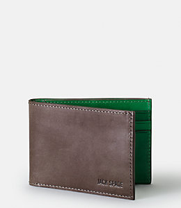 Mitchell Leather Index Wallet